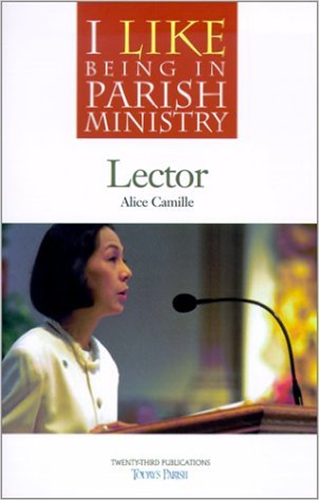 I Like Being a Lector by Alice Camille